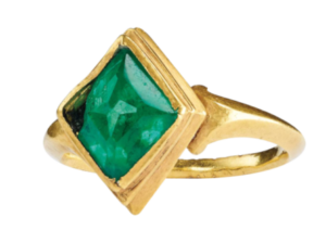 Emerald Ring recovered from the Atocha site