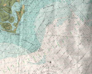 Map of Cape Romain
